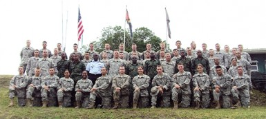 The US cadets (US Embassy photo)