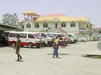 The Parika bus park