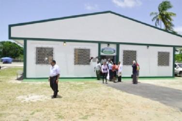The Guyana Livestock Development Authority's Veterinary Services Laboratory (GINA photo)