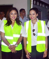 Alana (left) and Briony Tiwarie, Directors of JAGS Aviation