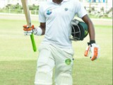 Trevon Griffith's 102 made him the third Demerara batsman to score a century in this match. (Orlando Charles photo)