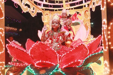 The Bath Sri Krishna Mandir float