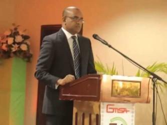 Bharrat Jagdeo speech at the GMSA dinner