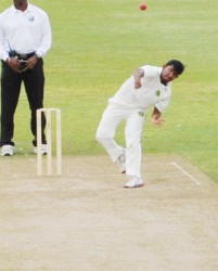 Devendra Bishoo bowled with control, guile and aggression to help set up a huge win for the Jaguars.