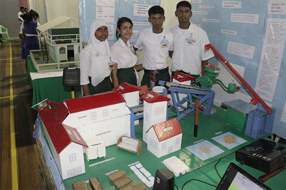 Students confront Chikungungya, pollution at finals of ...
