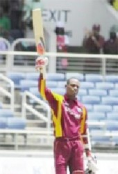 Marlon Samuels 203 retired out