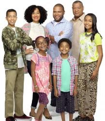 "The cast of ABC's ""Black-ish"""