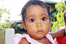 Bright-eyed baby