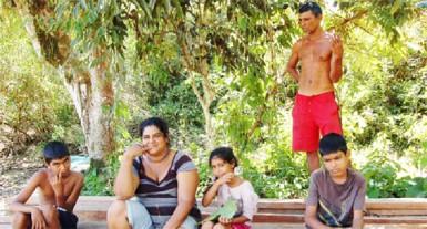 Robby Mahadeo Persaud and his family