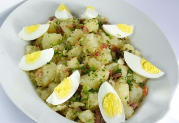 Warm Potato Salad (Photo by Cynthia Nelson)