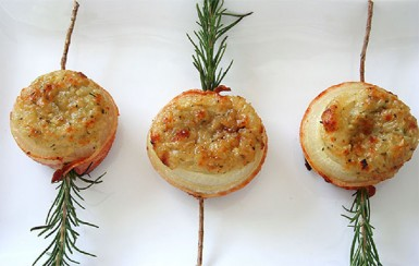 Stuffed Baked Onions (Photo by Cynthia Nelson)