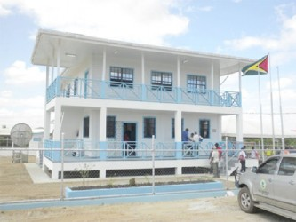 The new Guyana Geology and Mines Commission Building at Lethem (GINA photo)
