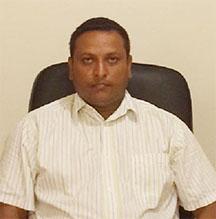 Upper Corentyne Chamber  President Abraham Subnauth