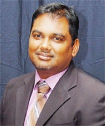 Berbice Chamber of Commerce  President Mark Roopnarine