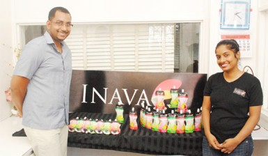 INAVA proprietors Frankie and Kavita Sami