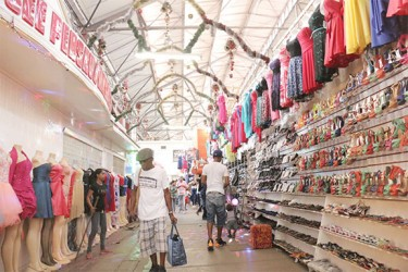 A Stabroek Market boutique