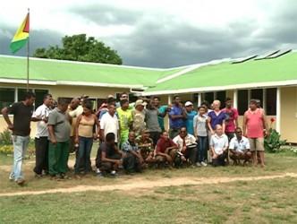 South Rupununi safarians take a group photo (GINA photo)