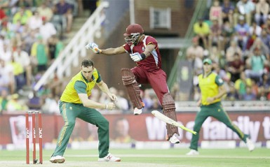 Dwayne Bravo lost his bat and the West Indies team the plot, going down to South Africa by 69 runs in the third and final T20 match yesterday. The West Indies however won the three match series  by two matches to one.