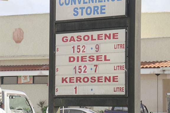 Gas Prices Slashed At City Guyoil Stations Stabroek News