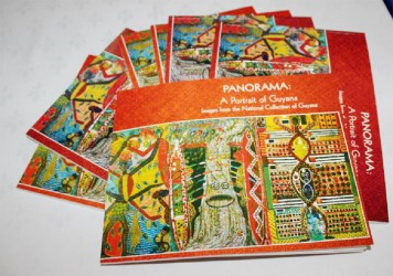 Copies of Panorama - A Portrait of Guyana at the launching