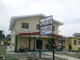 The newly-built Integrated Regional Tax Office in Linden