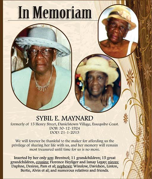 Sybil Maynard