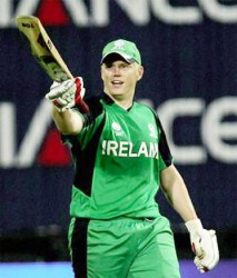 Ireland's World Cup hopes lie in the hands of key player  Kevin O'Brien above