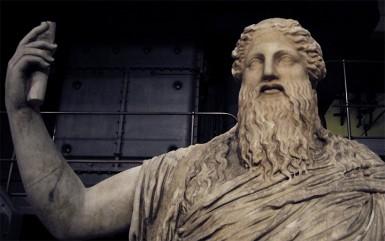 Statue of Dionysus, Centrale Montemartini Museum, Rome (Internet photo)