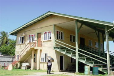 The community centre where the students are being housed - -