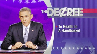 The Word - President Barack Obama - To Health in a Handbasket (Colbert Report)