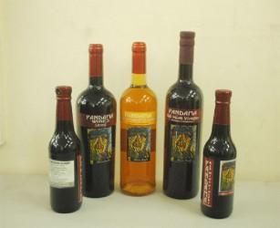 Pandama wine display