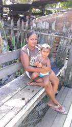 Savita Palo and her son