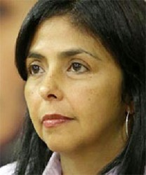 Venezuelan Foreign Minister Delcy Rodríguez (misionvenezuela.org photo)