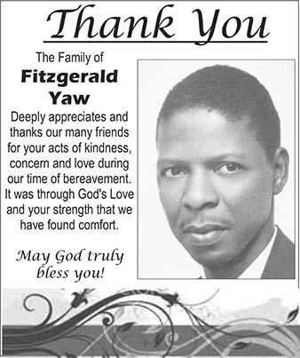 Fitzgerald Yaw