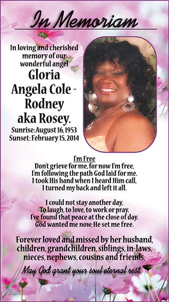 Gloria Angela Cole-Rodney