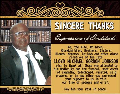 Lloyd Michael Gordon Johnson