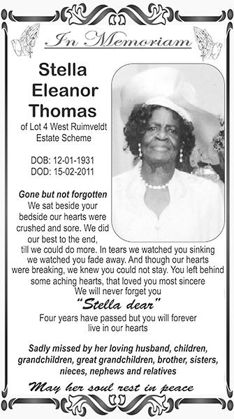Stella Eleanor Thomas