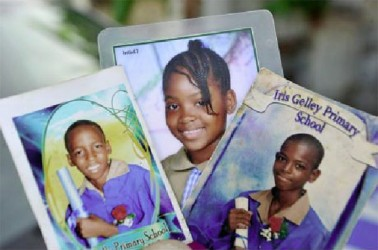 The three children who perished in a house fire in Jones Town, Kingston, Friday morning.