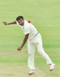 Veerasammy Permaul's form continued with another five wicket haul