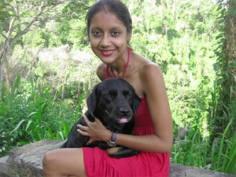 Kristel-Marie Ramnath and Clio (Best Pets Animal Behaviour website)