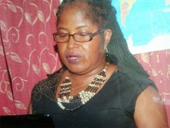 IICA Food Specialist  Dr Maxine Parris-Aaron