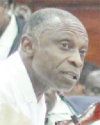 Foreign Affairs Minister Carl Greendige