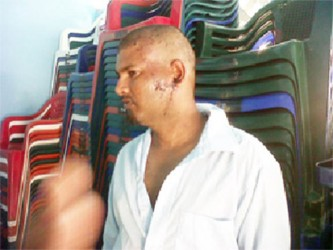 Navindra Mohabir  on the day after the incident