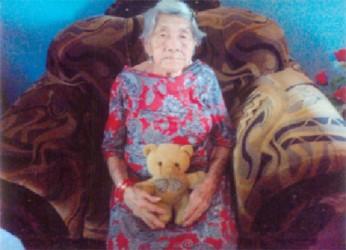Centenarian Verley Etheline Bellamy