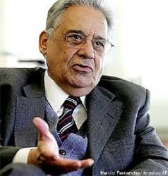 Former President Fernando  Henrique Cardoso