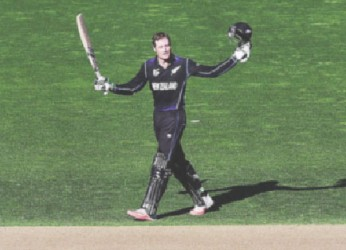 Martin Guptill's masterclass helped eliminate the West Indies from the World Cup competition yesterday.