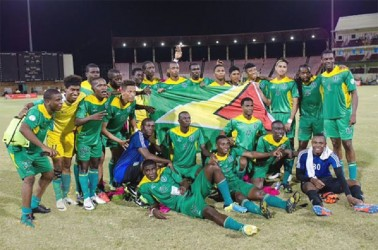 Guyana's Golden Jaguars bask in their first international victory on home soil in more than two years.