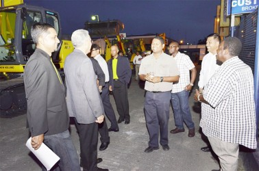 Guests at the launching (Massy Industries photo)