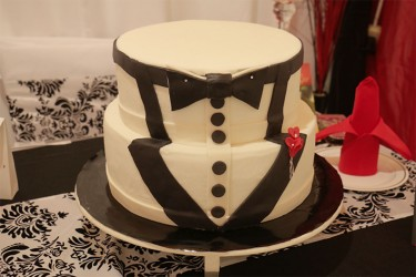 Part of the cake display by J-Cee's Enterprise