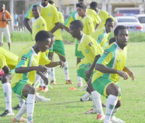 Guyana's Golden Jaguars are the underdogs going into today's friendly international football match against Grenada.